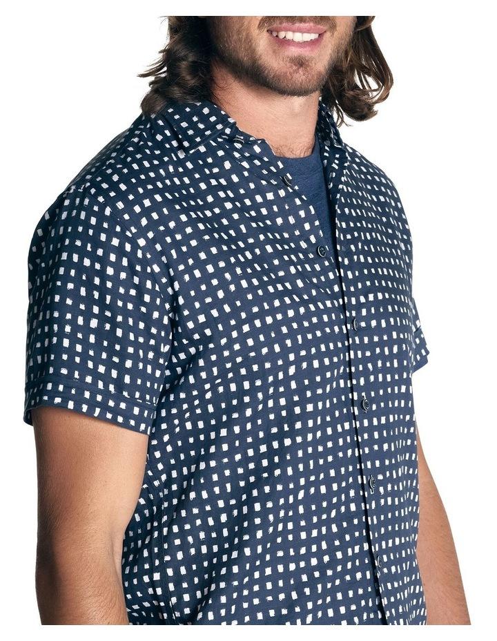 Lydbrook Short Sleeve Sports Fit Shirt - Ink image 5