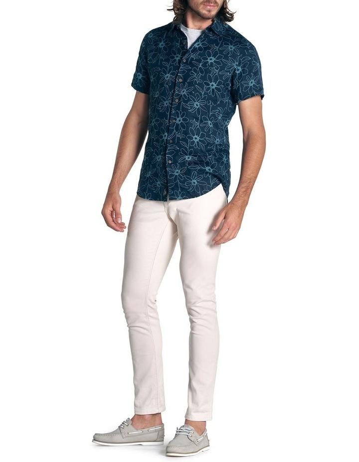 Helensbrook Short Sleeve Sports Fit Shirt - Indigo image 2