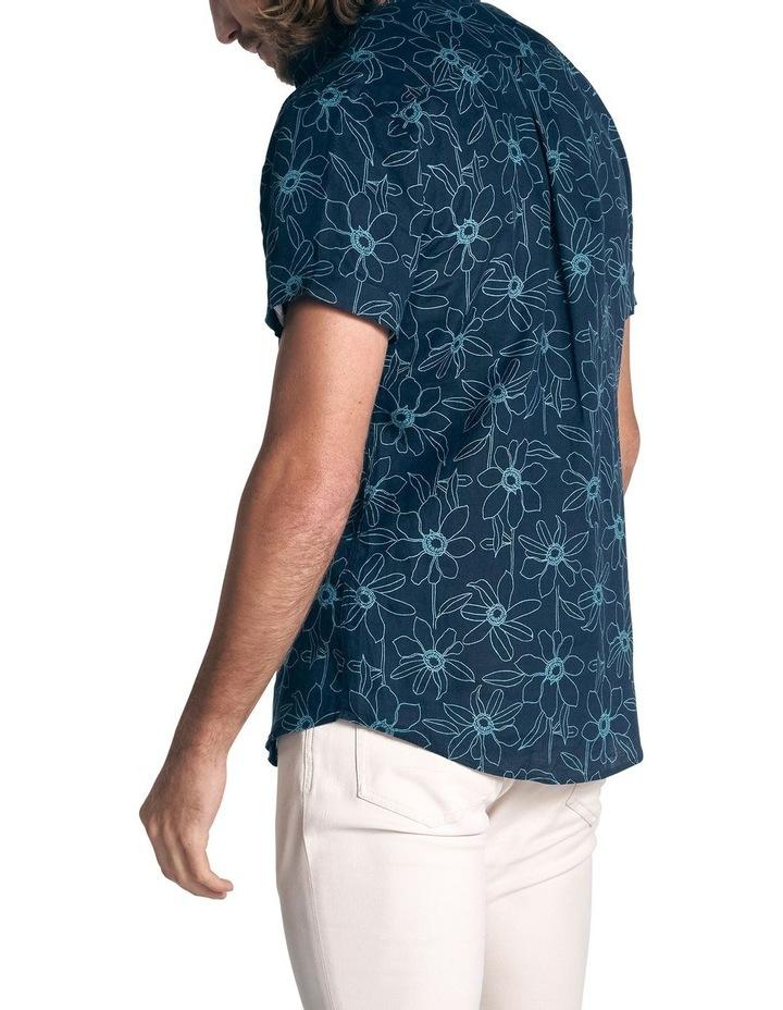 Helensbrook Short Sleeve Sports Fit Shirt - Indigo image 4