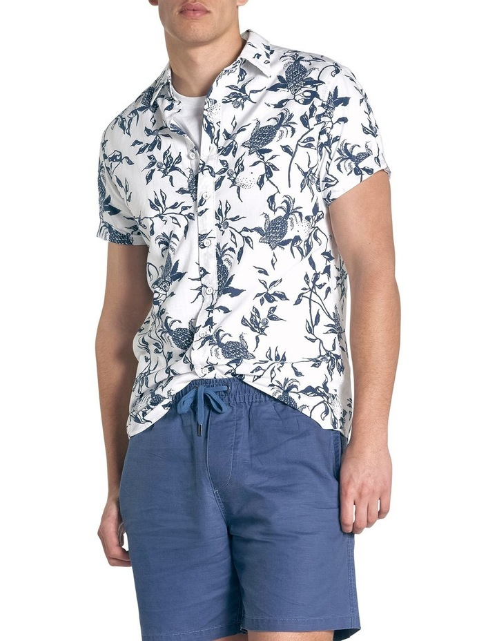 Featherson Short Sleeve Sports Fit Shirt - Porcelain image 1