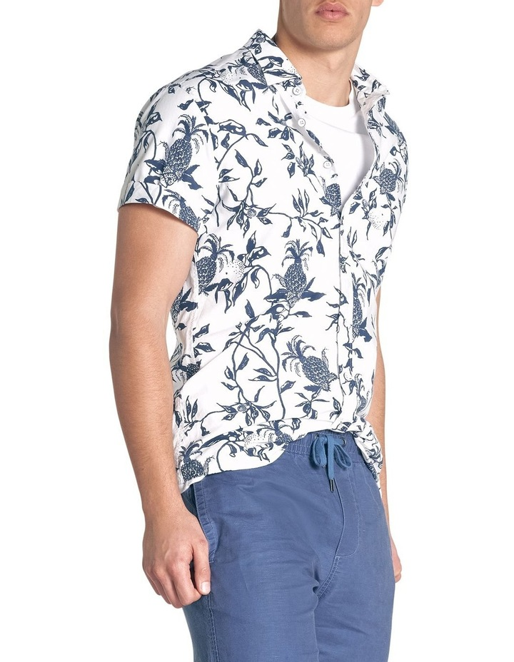 Featherson Short Sleeve Sports Fit Shirt - Porcelain image 3