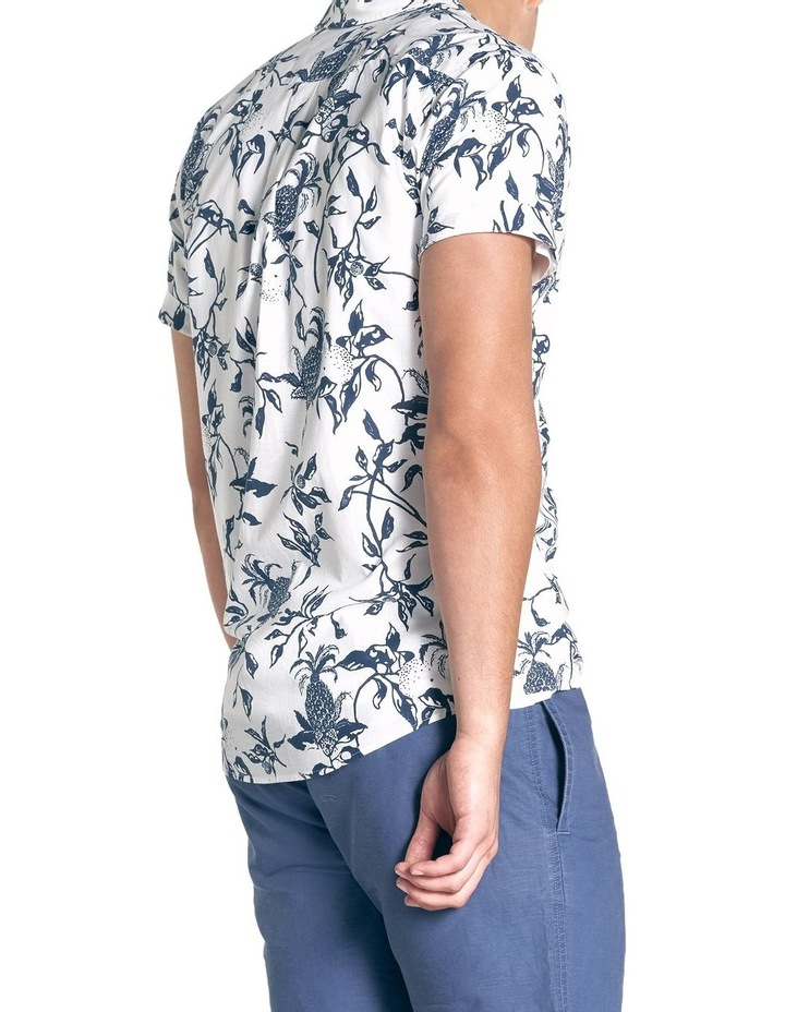 Featherson Short Sleeve Sports Fit Shirt - Porcelain image 4