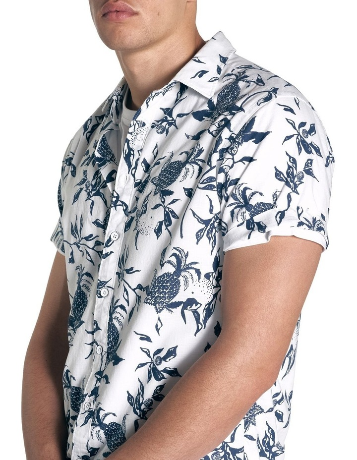 Featherson Short Sleeve Sports Fit Shirt - Porcelain image 5