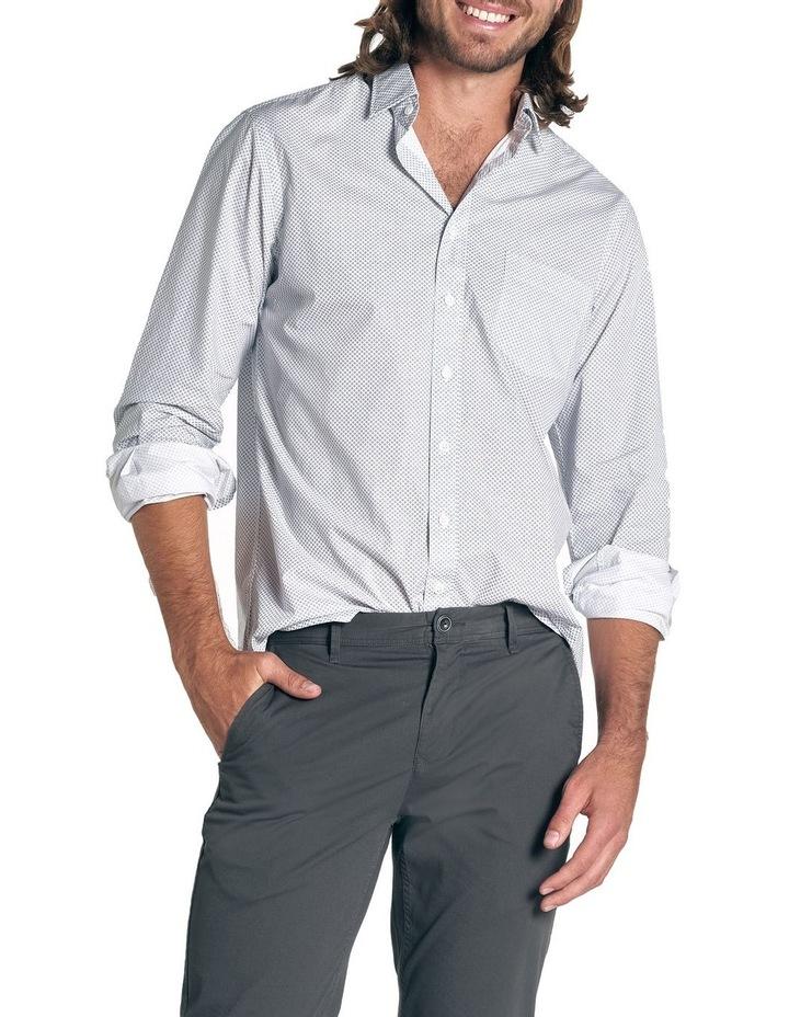Hibiscus Coast Long Sleeve Shirt - Off White image 1