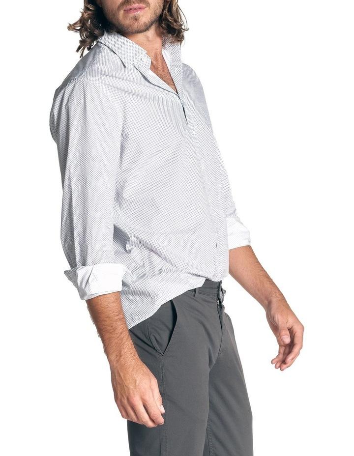 Hibiscus Coast Long Sleeve Shirt - Off White image 3