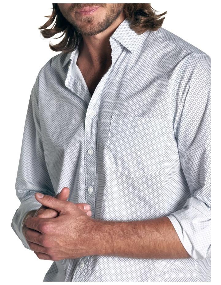 Hibiscus Coast Long Sleeve Shirt - Off White image 5