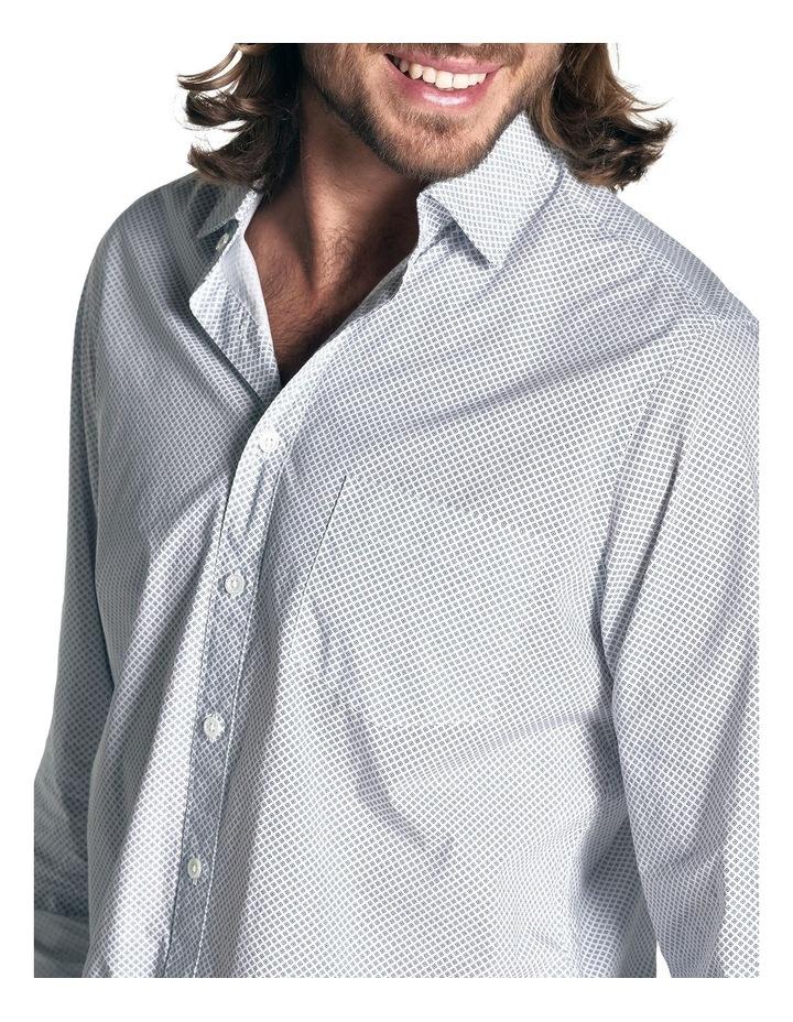 Hibiscus Coast Long Sleeve Shirt - Off White image 6