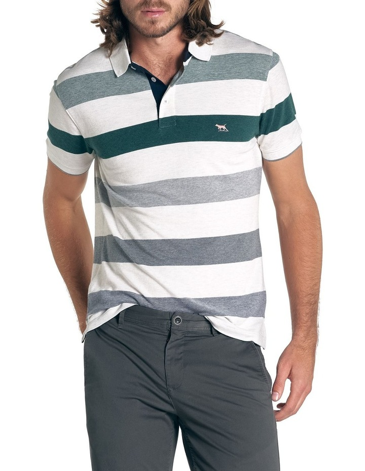 Hills Creek Sports Fit Polo - Ivory image 1