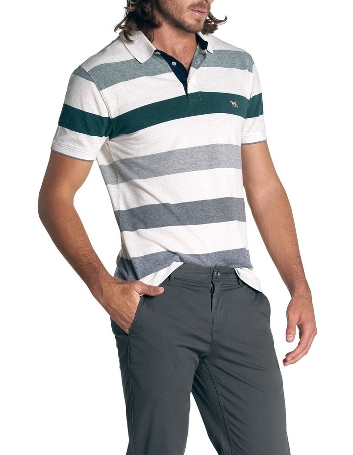 Hills Creek Sports Fit Polo - Ivory image 3