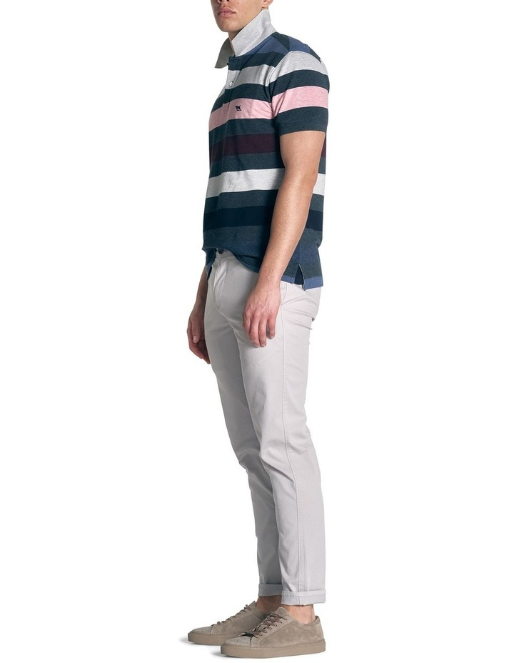 Point Howard Sports Fit Polo - Denim image 2