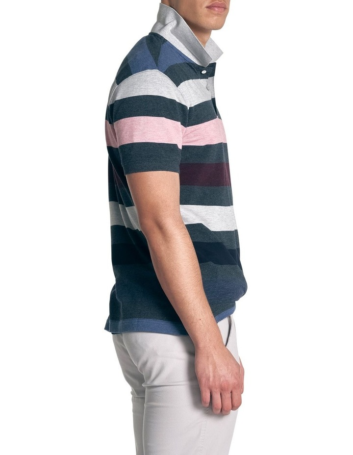 Point Howard Sports Fit Polo - Denim image 3