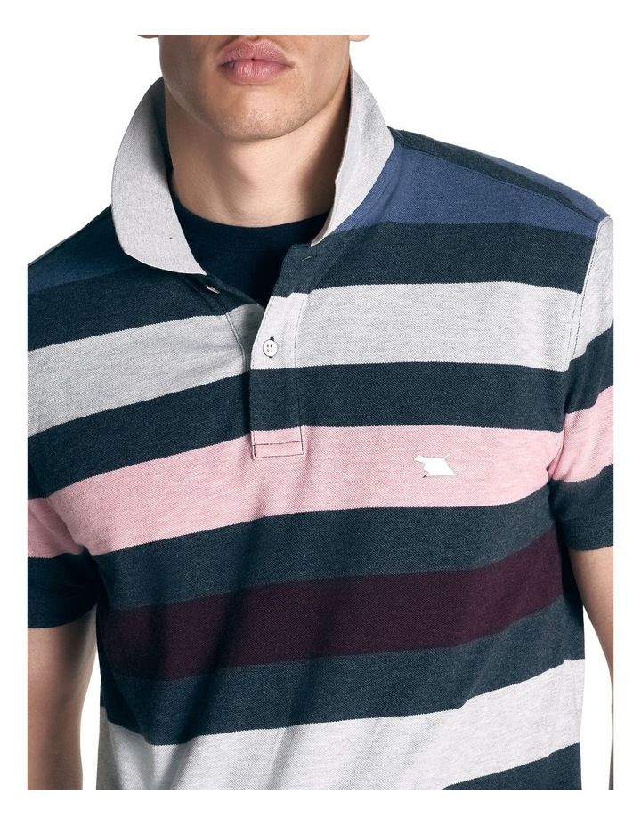 Point Howard Sports Fit Polo - Denim image 5