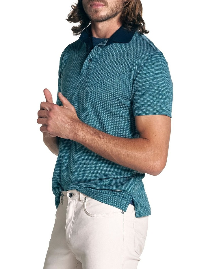 Stanley Point Sports Fit Polo - Jade image 3
