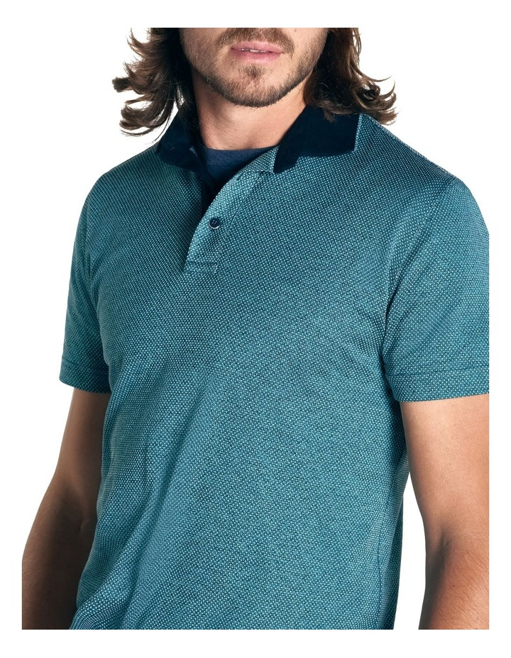 Stanley Point Sports Fit Polo - Jade image 5