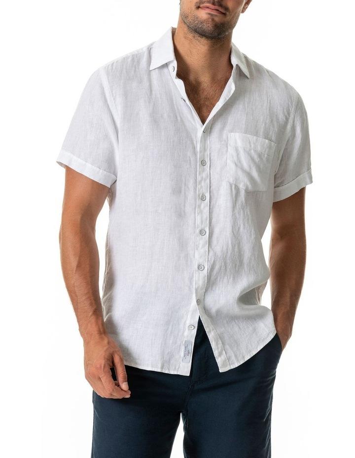 Seacliff 2 Short Sleeve Sports Fit Shirt - Snow image 1