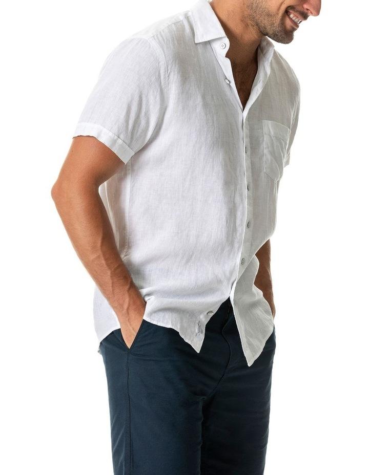Seacliff 2 Short Sleeve Sports Fit Shirt - Snow image 2