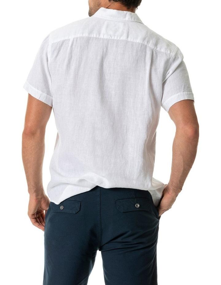 Seacliff 2 Short Sleeve Sports Fit Shirt - Snow image 3
