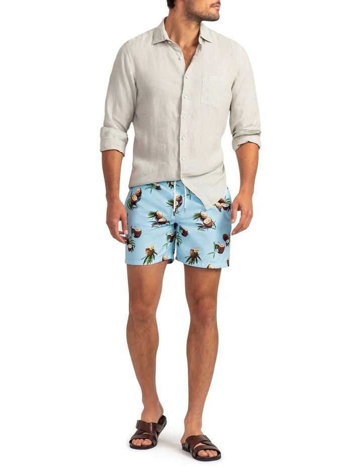 Coromandel Long Sleeve Sports Fit Shirt - Flax image 4