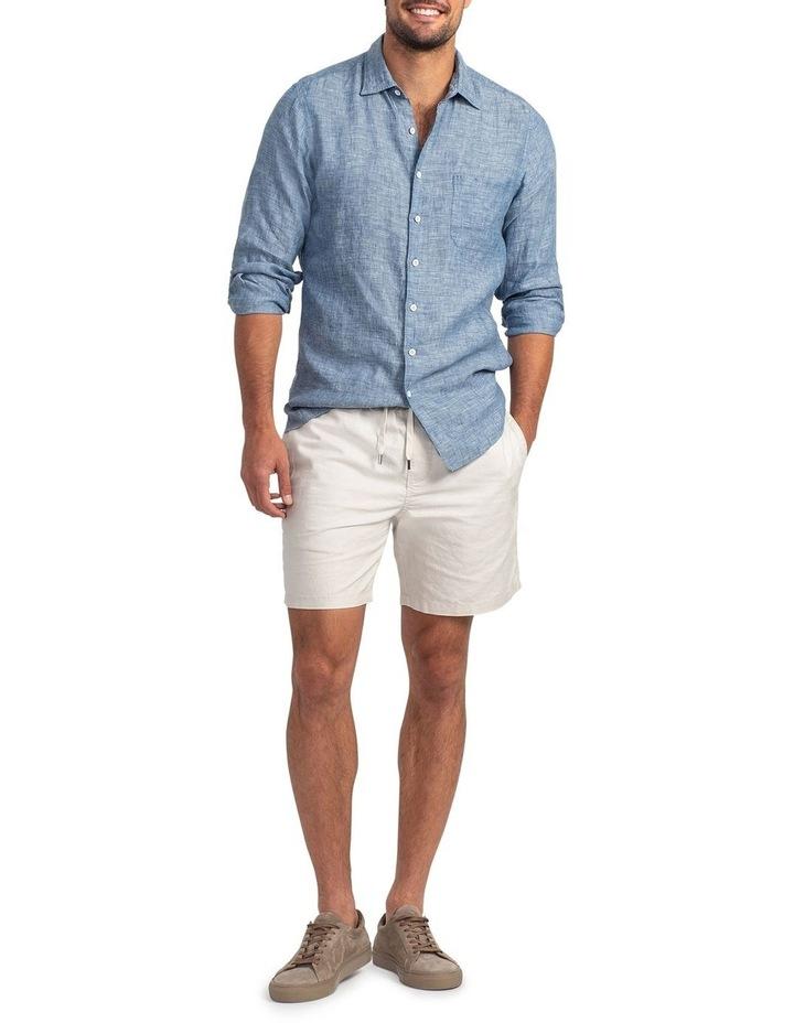 Chaffeys Long Sleeve Sports Fit Shirt - Denim image 4