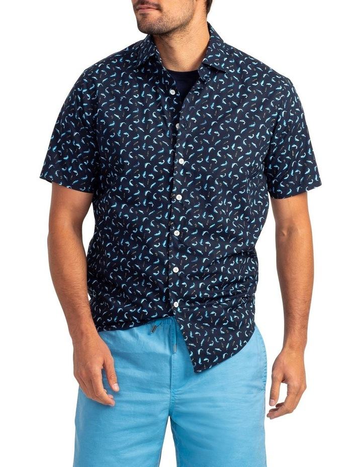 Havelock Harbour Short Sleeve Shirt - Malibu image 1