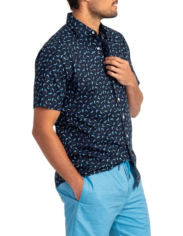 Havelock Harbour Short Sleeve Shirt - Malibu image 2