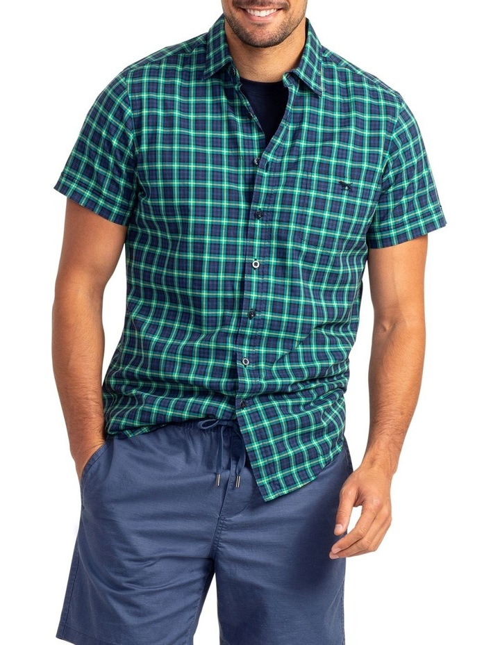 Greenway Short Sleeve Sports Fit Shirt - Evergreen image 1