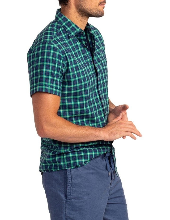Greenway Short Sleeve Sports Fit Shirt - Evergreen image 2