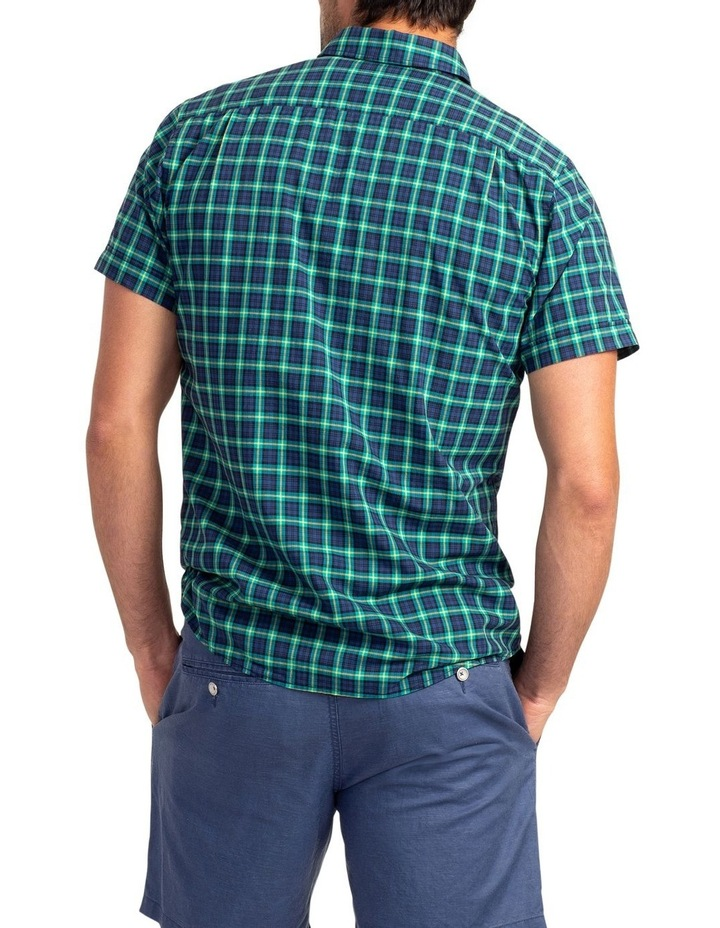 Greenway Short Sleeve Sports Fit Shirt - Evergreen image 3