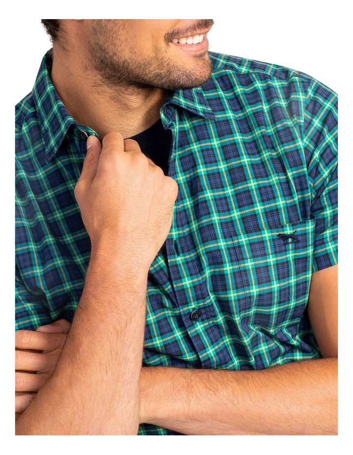 Greenway Short Sleeve Sports Fit Shirt - Evergreen image 5