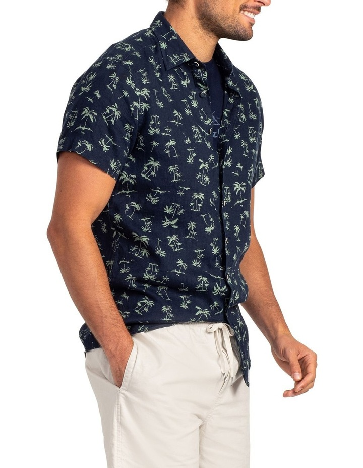 Somes Island Short Sleeve Sports Fit Shirt - Grass image 2