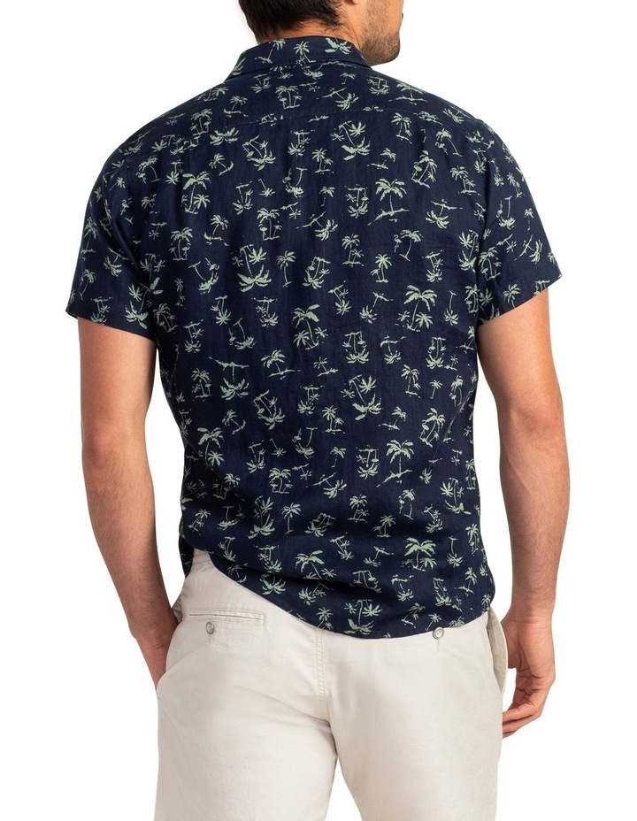 Somes Island Short Sleeve Sports Fit Shirt - Grass image 3