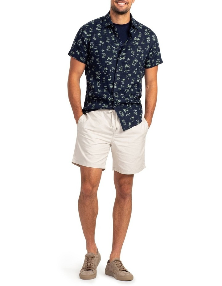 Somes Island Short Sleeve Sports Fit Shirt - Grass image 4