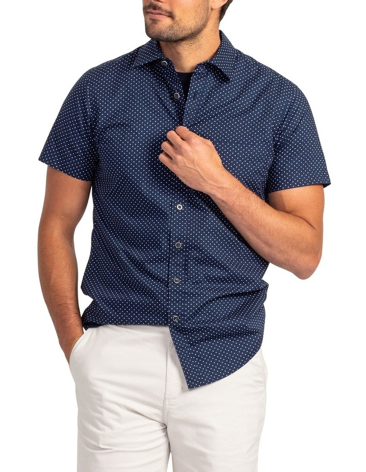 Muller Short Sleeve Sports Fit Shirt - Ink image 1