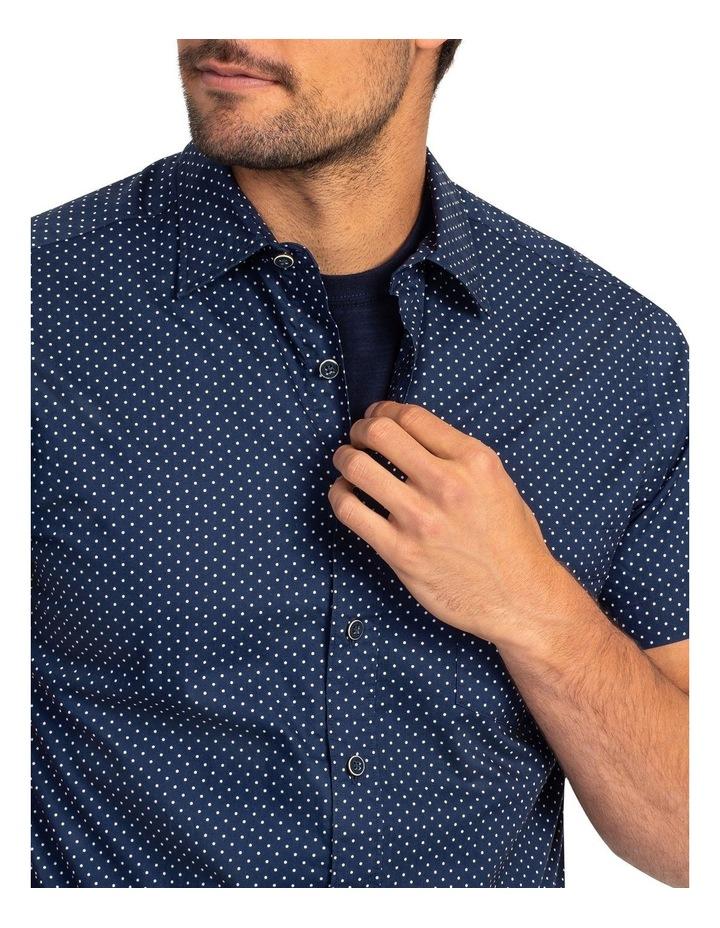 Muller Short Sleeve Sports Fit Shirt - Ink image 5