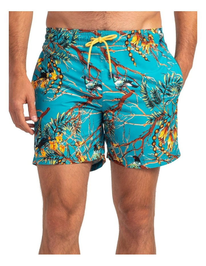 Sailfish Cove Swim Short - Teal image 1