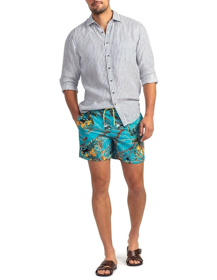 Sailfish Cove Swim Short - Teal image 2