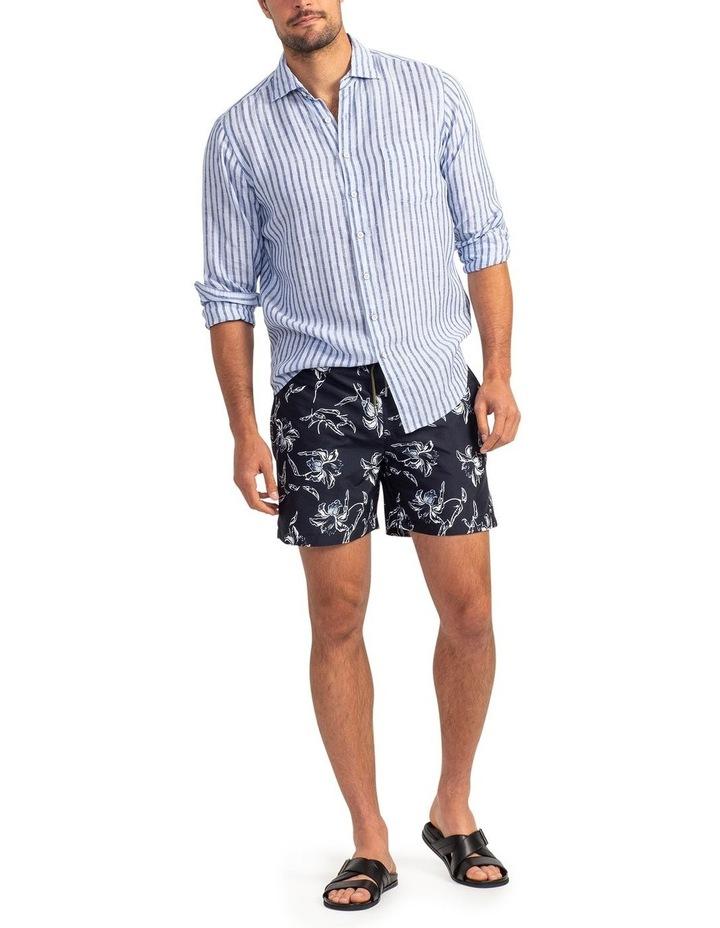 Hillgrove Downs Long Sleeve Sports Fit Shirt - Atlantic image 2
