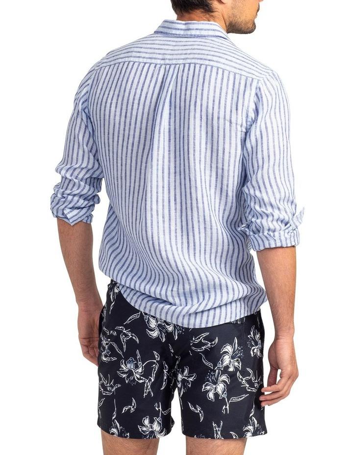 Hillgrove Downs Long Sleeve Sports Fit Shirt - Atlantic image 4