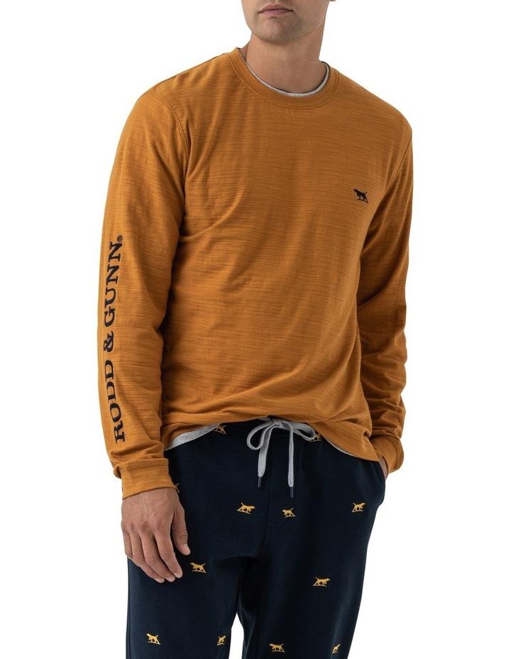 Broadford Long Sleeve T-Shirt - Mustard image 1