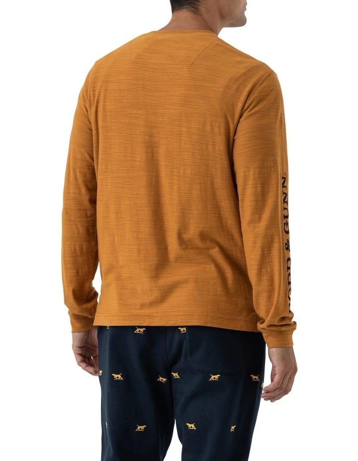 Broadford Long Sleeve T-Shirt - Mustard image 3