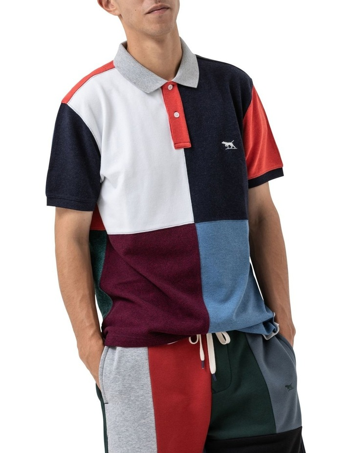 WNWN Short Sleeve Harlequin Polo - Assorted image 1