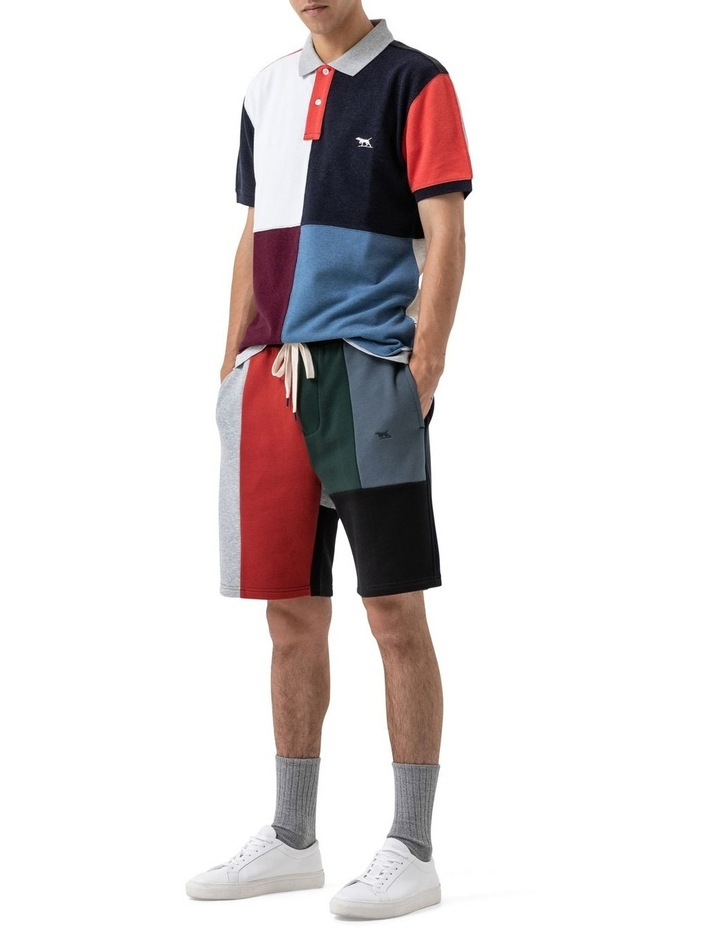 WNWN Short Sleeve Harlequin Polo - Assorted image 2