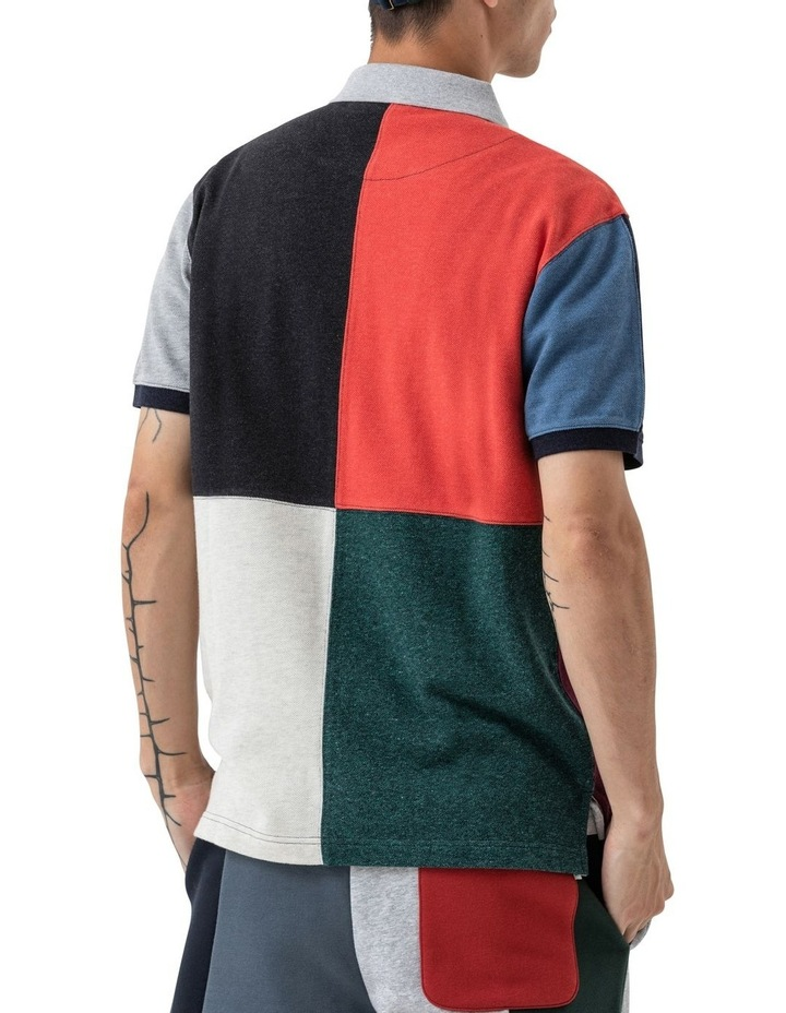 WNWN Short Sleeve Harlequin Polo - Assorted image 3