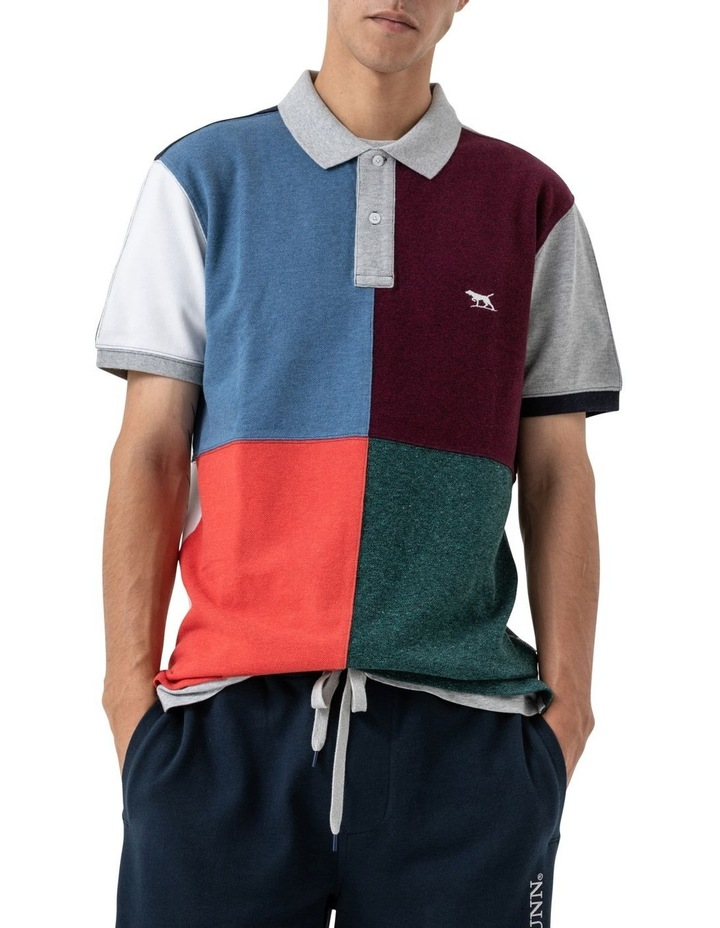 WNWN Short Sleeve Harlequin Polo - Assorted image 4