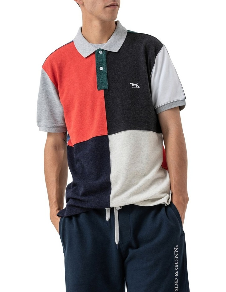 WNWN Short Sleeve Harlequin Polo - Assorted image 6