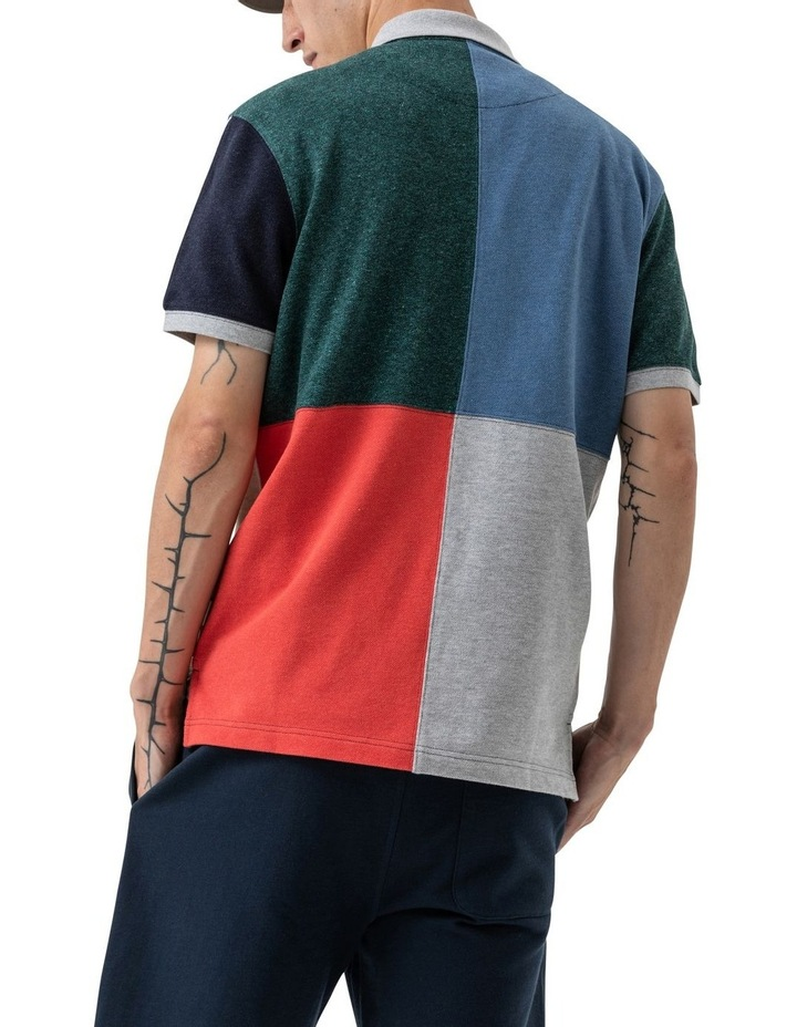 WNWN Short Sleeve Harlequin Polo - Assorted image 7