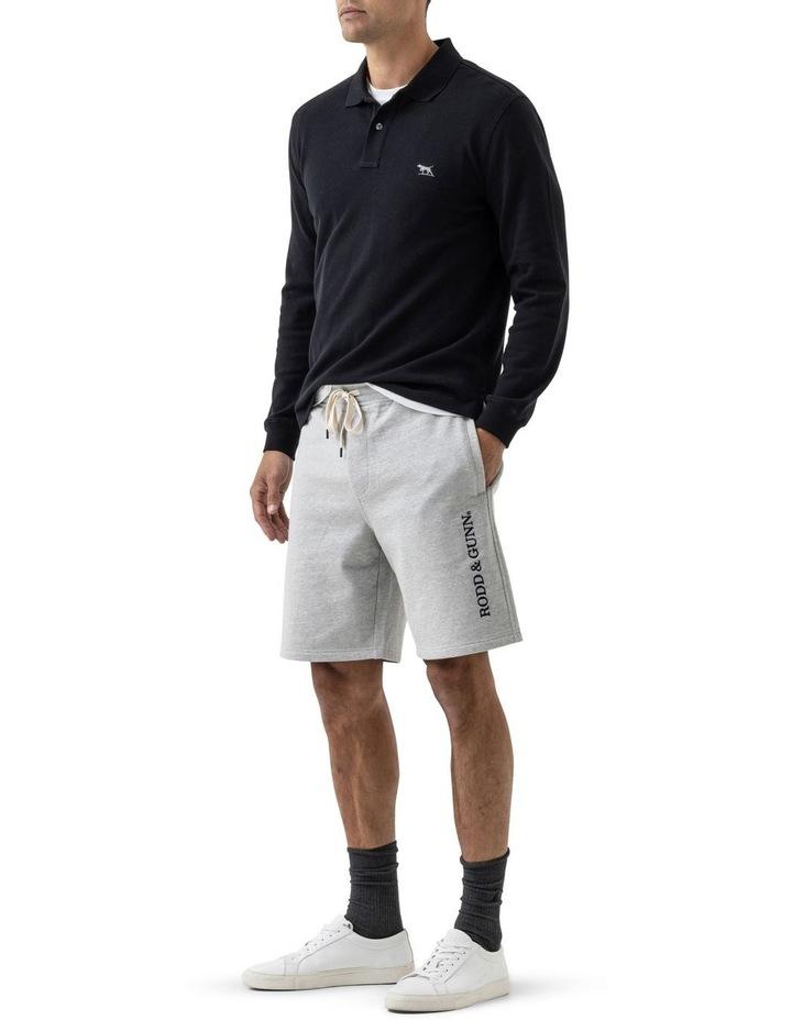 Long Sleeve Gunn Polo - Onyx image 2