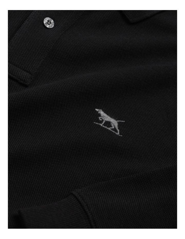 Long Sleeve Gunn Polo - Onyx image 5