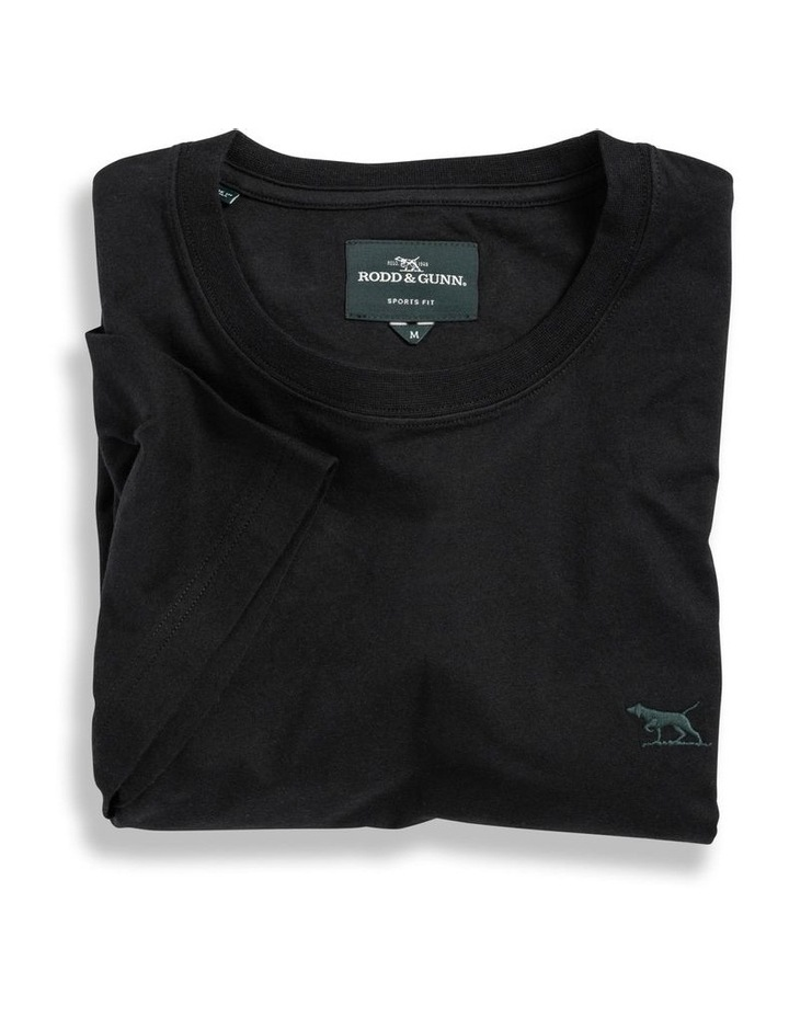 The Gunn T-Shirt - Liquorice image 4