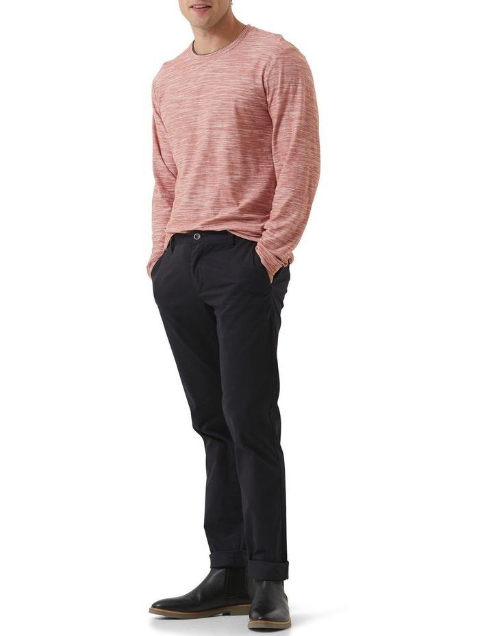 Long Sleeve Claremont T-shirt - Rust image 2